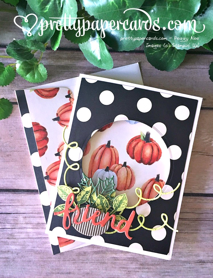 Stampin' Up! 1 Lovely Words Friend Card - Paggy Noe - stampinup