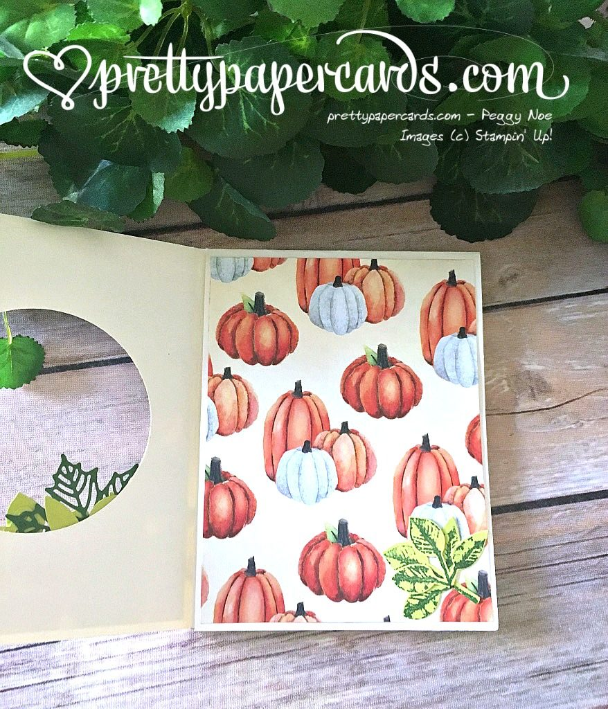 Stampin' Up! 4 Painted Harvest Lovely Words - Peggy Noe - stampinup