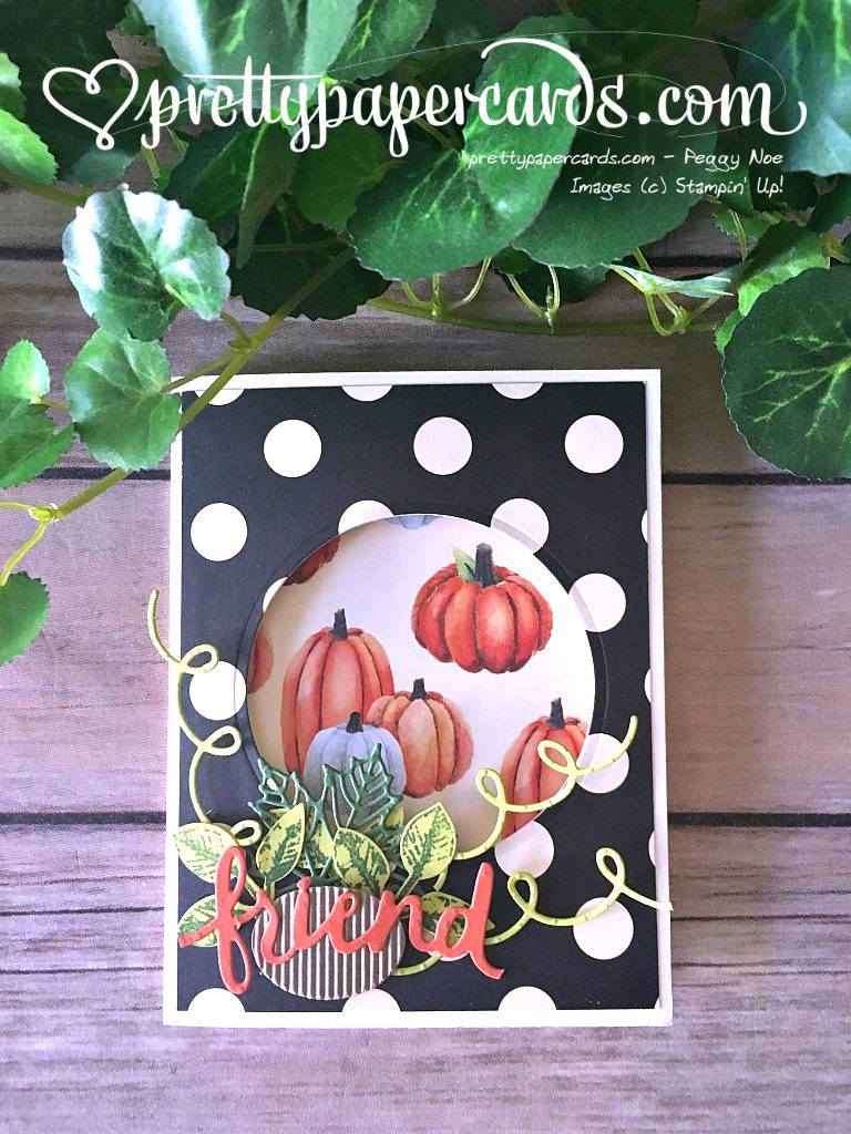 Stampin' Up! 6 Painted Harvest Lovely Words - Peggy Noe - stampinup
