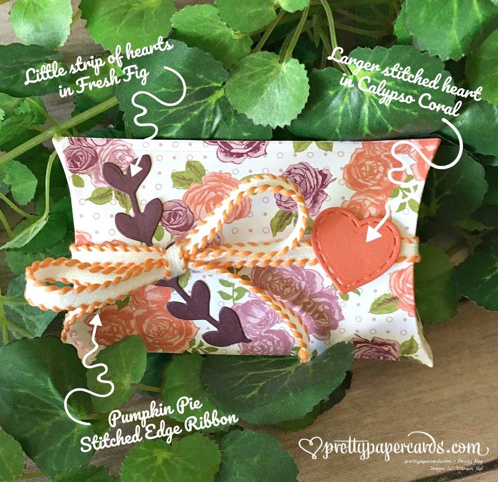 Stampin' Up! Birthday Pillowbox Petal Garden - Peggy Noe - stampinup