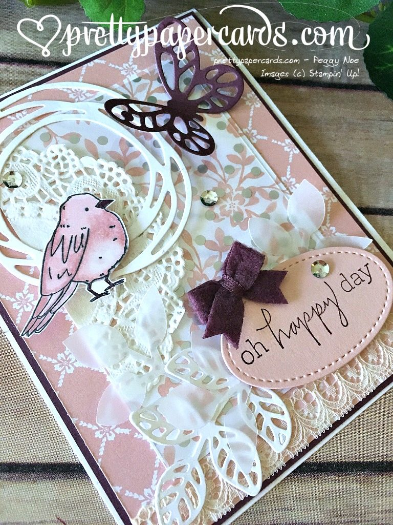 Stampin' Up! Color Me Happy Happiest of Days - Peggy Noe - stampinup