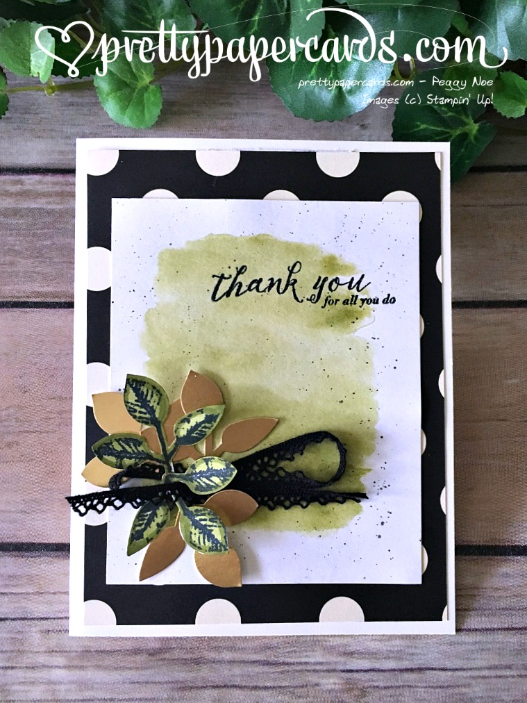 Stampin' Up! Global Design Leaf Punch - Peggy Noe - stampinun