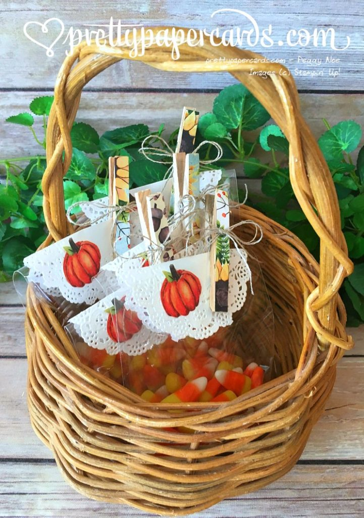 Stampin' Up! Painted Autumn Fall Treats - Peggy Noe - Painted Autumn