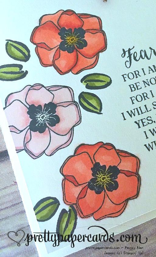 Stampin' Up! Rose Wonder Color Me Happy Card - Peggy Noe - stampinup