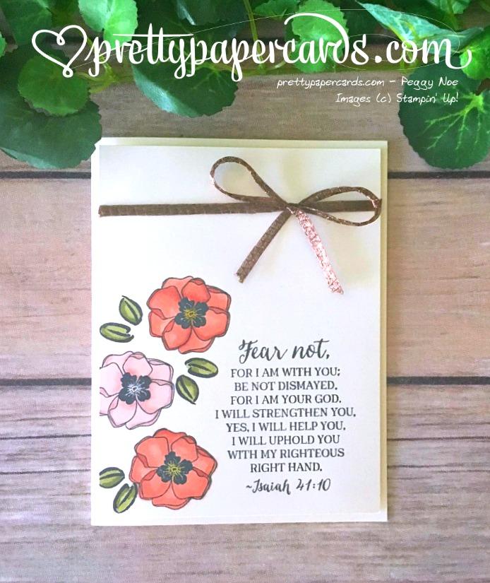 Stampin' Up! Rose Wonder Isaiah 4110 - Peggy Noe - stampinup