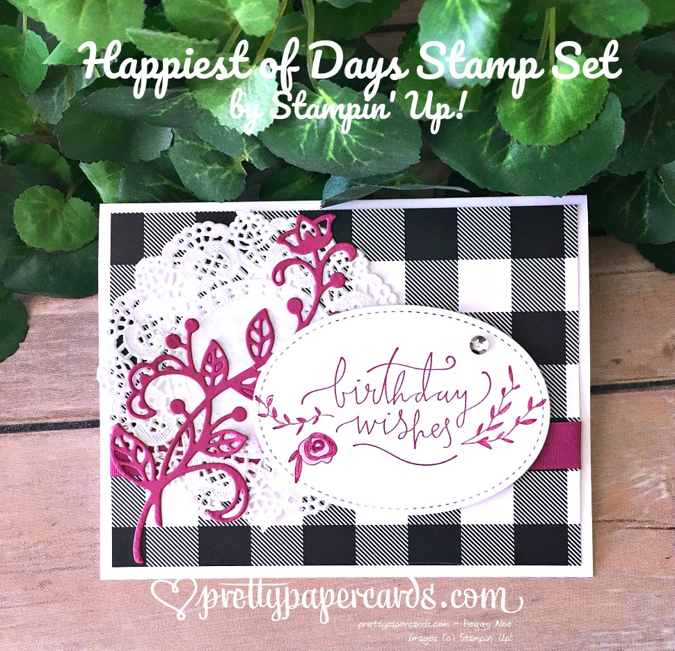 Prettypapercards Stampin' Up! Birthday Card - Peggy Noe - stampinup