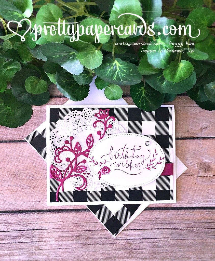 Prettypapercards Stampin' Up! Happiest of Days - Peggy Noe - stampinup