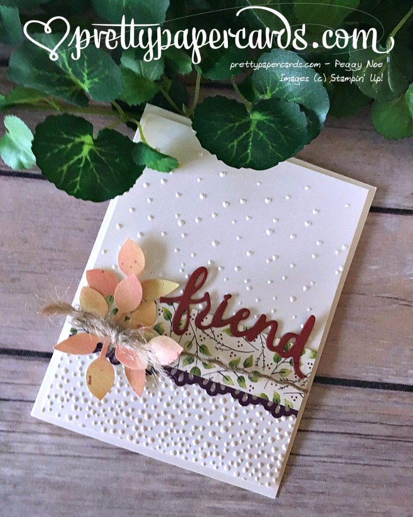 Prettypapercards Stampin' Up! Lovely Word Thinlits Dies - Peggy Noe - stampinup