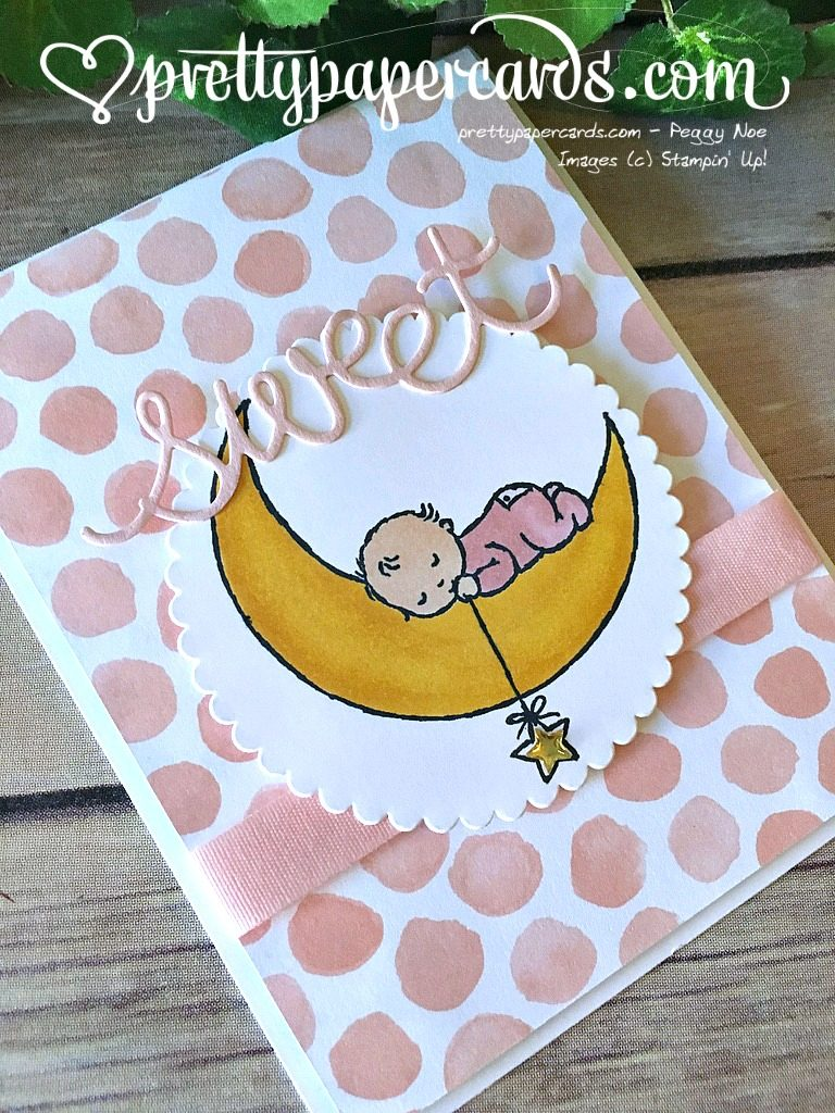 Prettypapercards Stampin' Up! Moon Baby Pink - Peggy Noe - stampinup