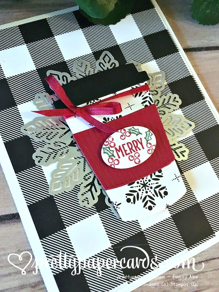 Stampin' Up! Merry Cafe Coffee - Peggy Noe - stampinup