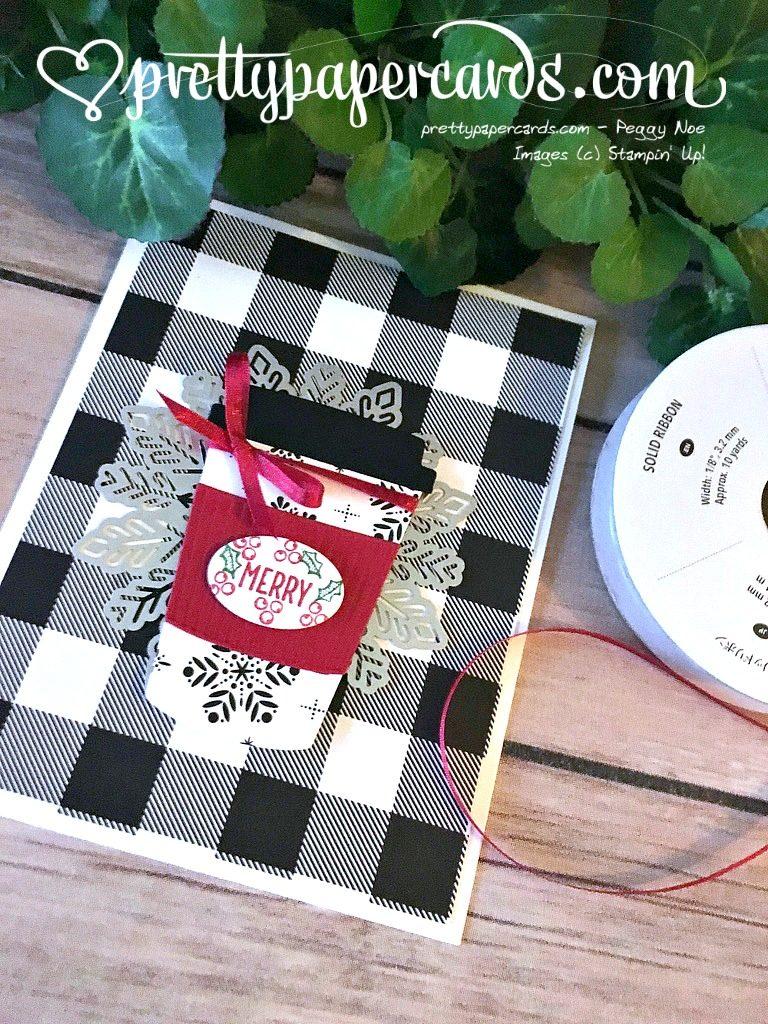Stampin' Up! Merry Cafe Stamp Set - Peggy Noe - stampinup