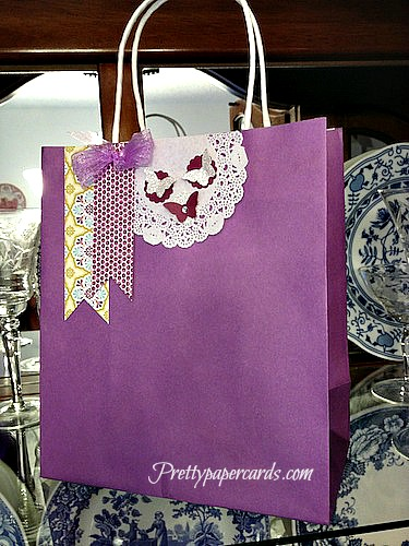 Decorate your own gift bags pretty paper cards