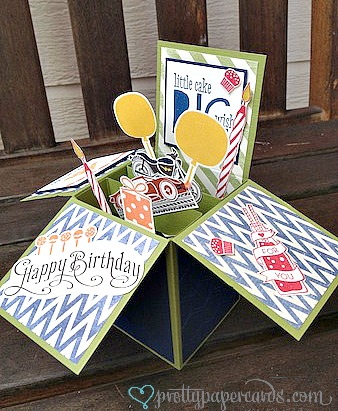 Birthday Card In A Box For A Guy Pretty Paper Cards