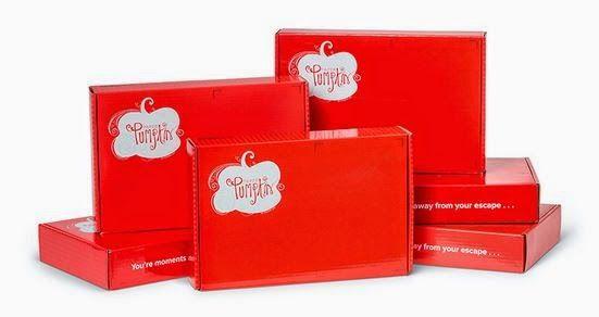 Paper Pumpkin Boxes