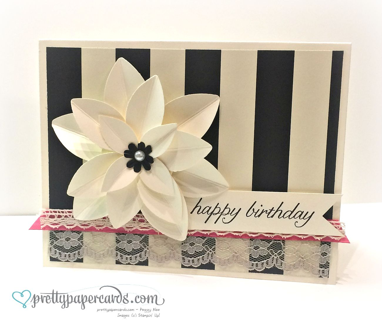 Flowers and lace for a birthday pretty paper cards do you have months on your calendar that have lots of birthdays i sure do so many of my friends have september and october birthdays izmirmasajfo