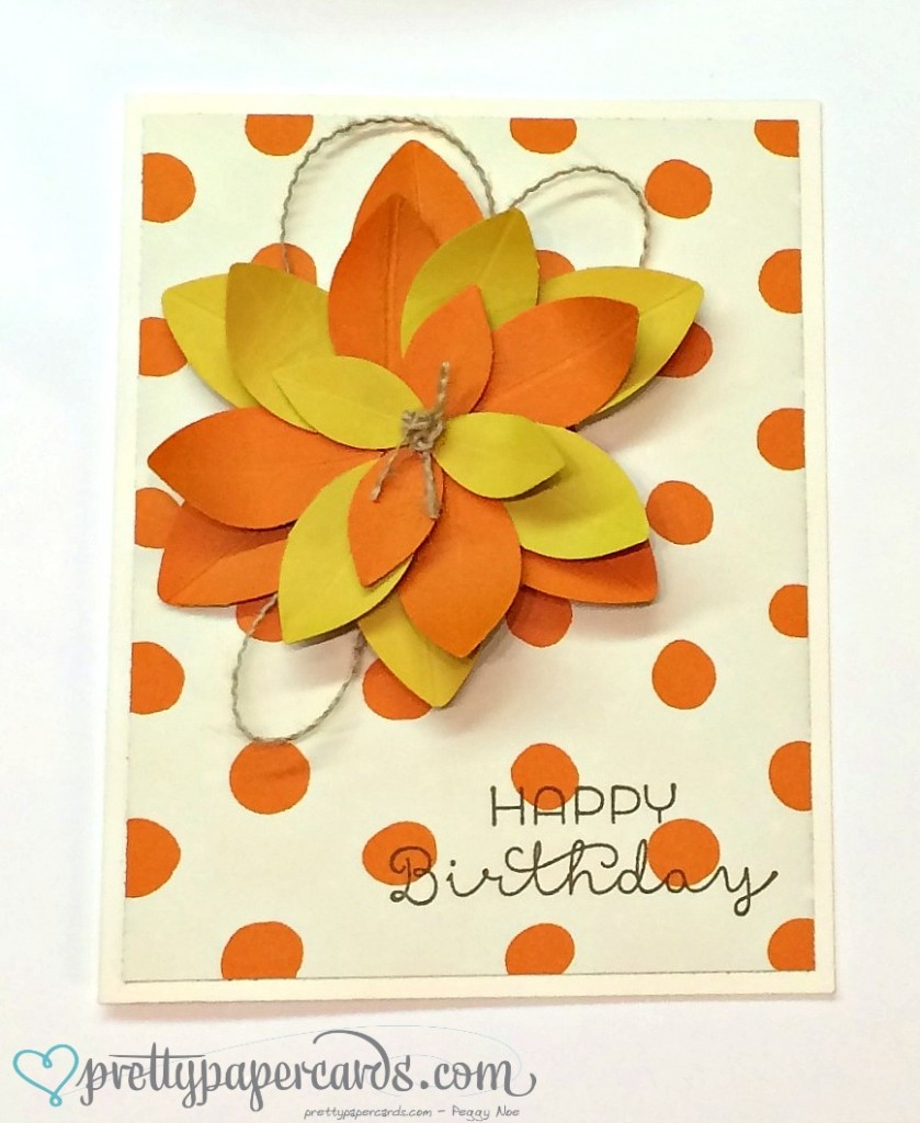 Festive Flower Builder Punch Archives Pretty Paper Cards