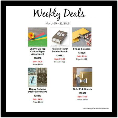 Weekly Deals 3:15