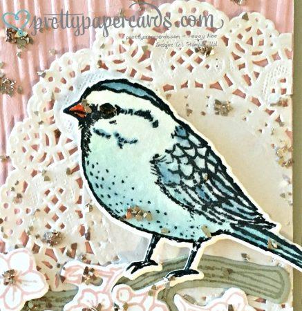 Glitter Bird cu bird