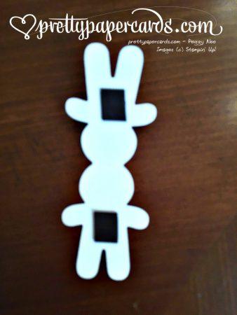 Gingerbread Man Magnet Open