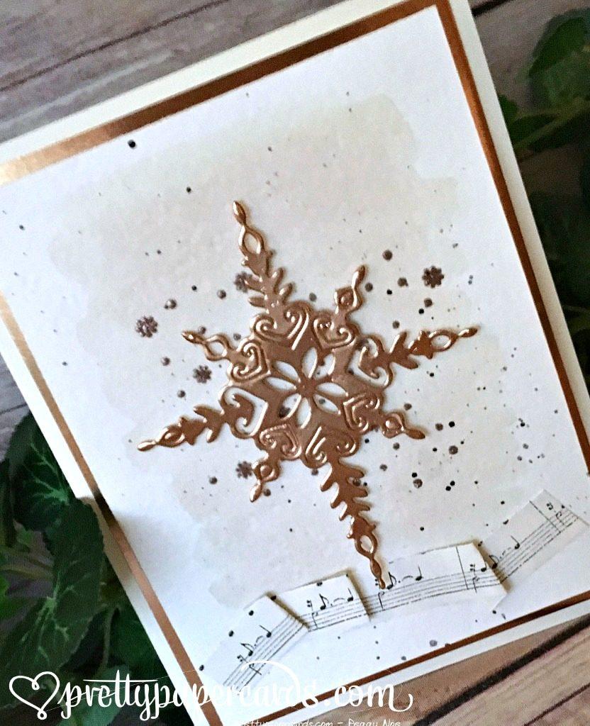 Copper star angled L