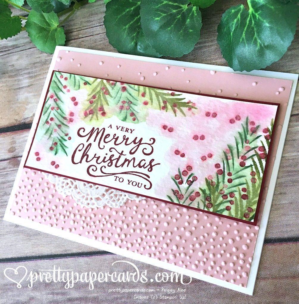 Pink berries down R good