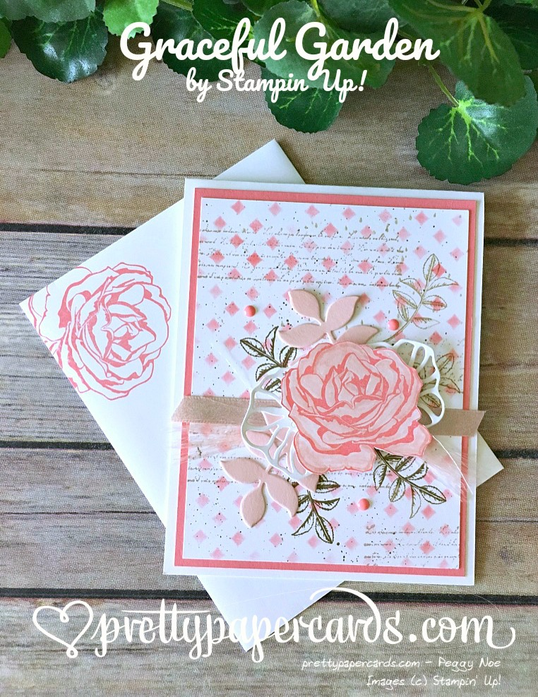 Oh my goodness graceful garden pretty paper cards for Stampin pretty craft room