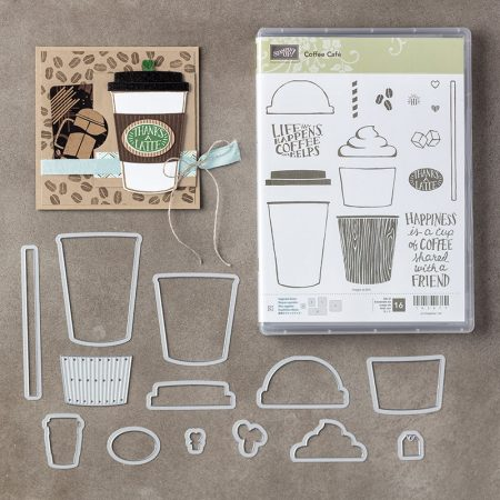Stampin' Up! Coffee Cafe Bundle 145331G - Peggy Noe - stampinup