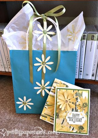 Stampin Up Daisy Delight Gift Bag Ideas - Peggy Noe Stampinup