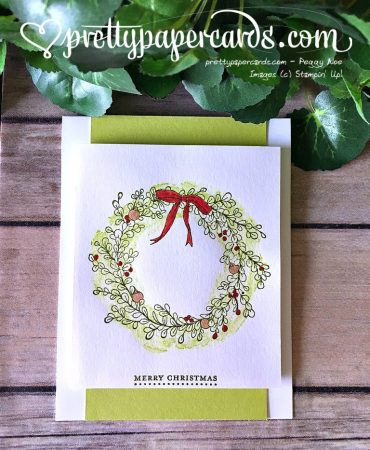 Stampin' Up! Feeling of Christmas card - Peggy Noe - stampinup