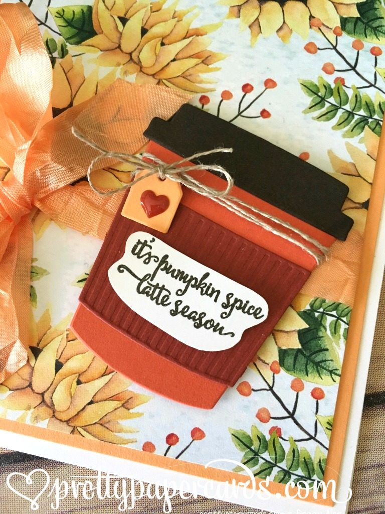 Stampin' Up! Merry Cafe Pumpkin Spice Latte - Peggy Noe - stampinup