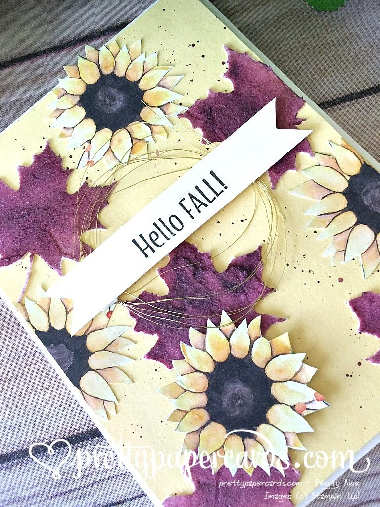 Stampin' Up! Painted Harvest Hello Fall - Peggy Noe - stampinup