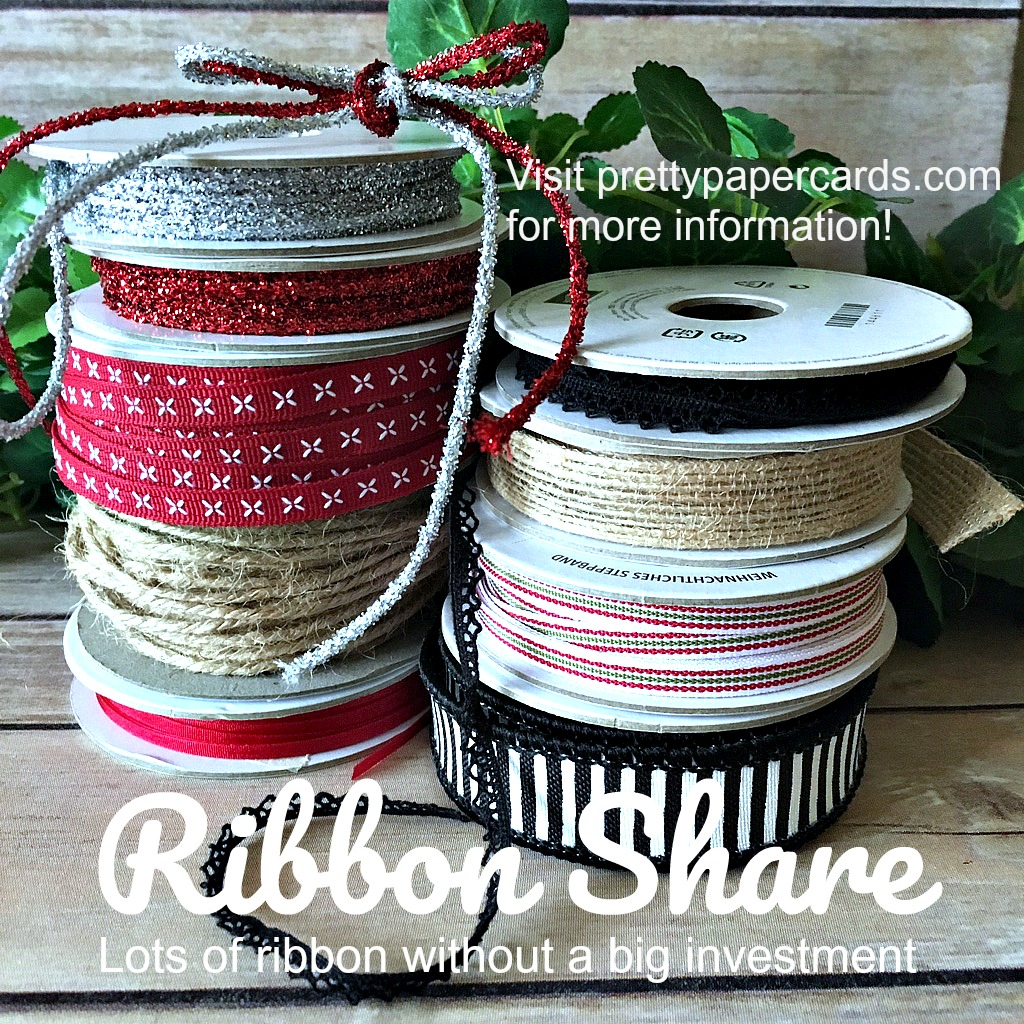 Stampin' Up! Ribbon Share - Peggy Noe - stampinup