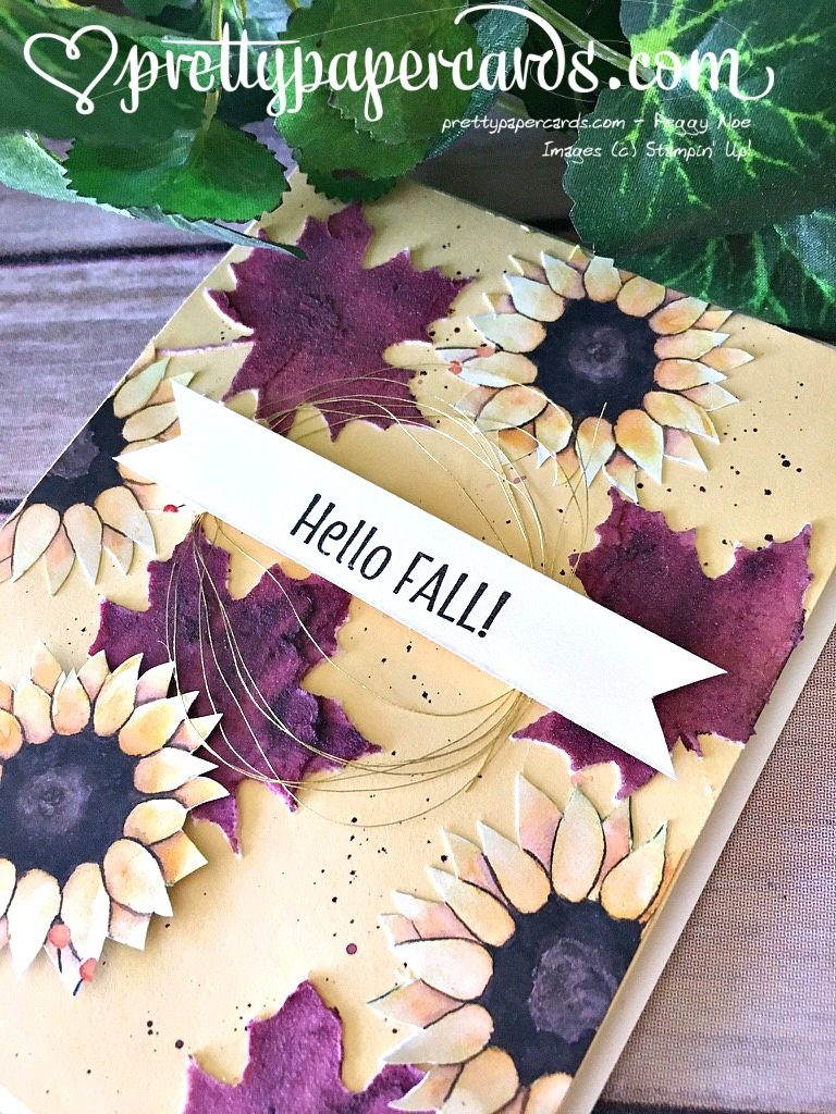 Stampin' Up! Seasonal Layers Fall Card - Peggy Noe - stampinup