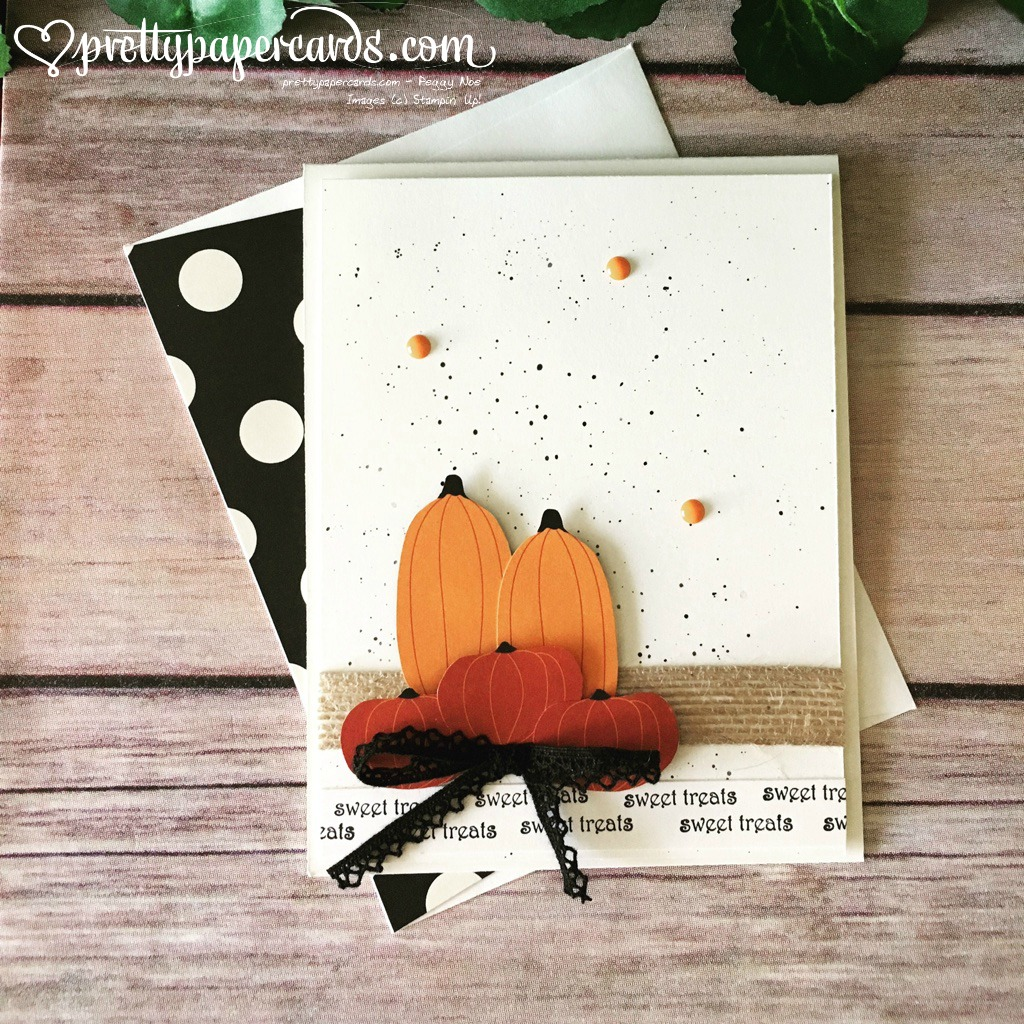 Stampin' Up! Spooky Nights Fall Card - Peggy Noe stampinup