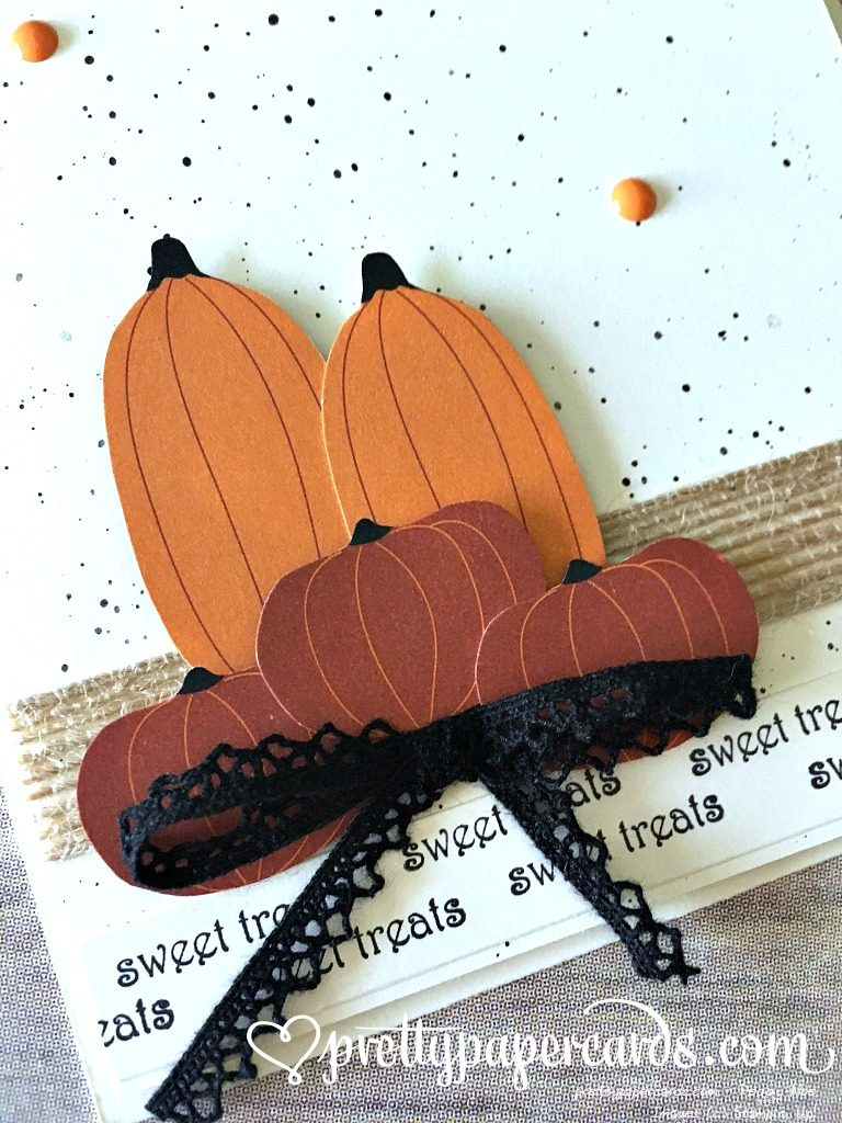 Stampin' Up! Teeny Weeny Wishes Fall Card - Peggy Noe - stampinup