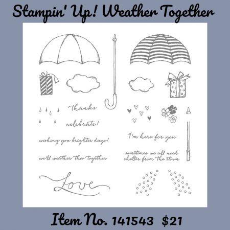 Stampin' Up! Weather Together Stamp Set 141543G
