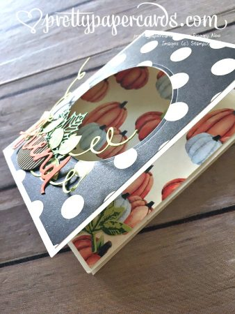 Stampin' Up! 3 Lovely Words Friend Card - Peggy Noe - stampinup