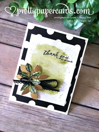 Stampin' Up! Global Design Thank You - Peggy Noe - stampinup