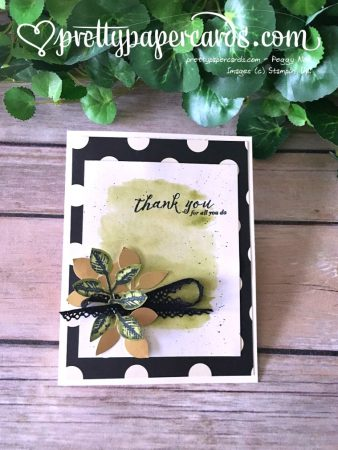 Stampin' Up! Global Thank You Feather Together - Peggy Noe - stampinup