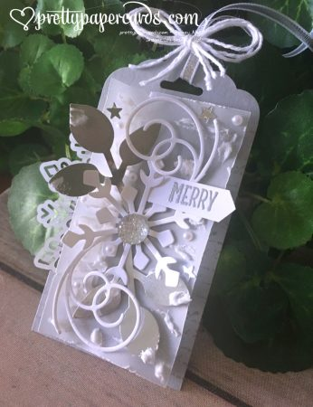 Stampin' Up! Scalloped Tag Topper Punch - Peggy Noe - stampinup