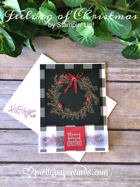 Prettypapercards Stampin' Up! Feeling of Christmas - Peggy Noe - stampinup