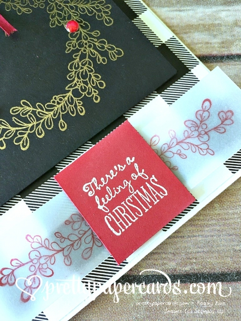Prettypapercards Stampin' Up! Feeling of Christmas Tic Tac Toe - Peggy Noe - stampinup
