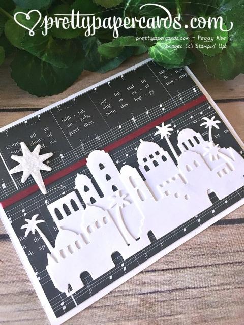 Stampin' Up! Bethlehem Card - Peggy Noe - Peggy Noe