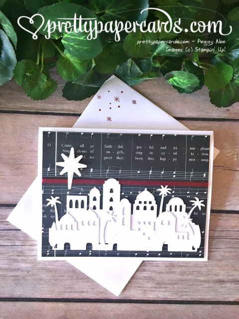 Stampin' Up! Bethlehem Christmas Card - Peggy Noe - stampinup