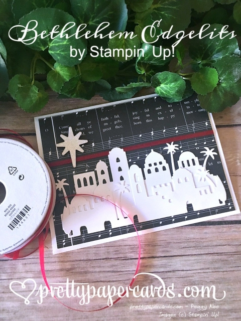 Stampin' Up! Bethlehem Edgelits - Prettypapercards - Stampinup