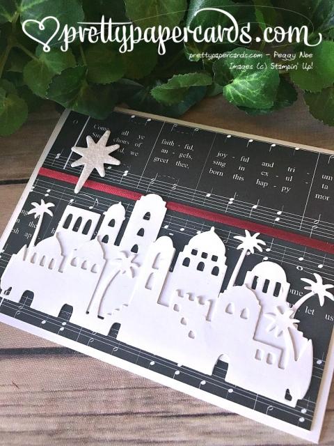 Stampin' Up! Bethlehem Star Card - Peggy Noe - stampinup