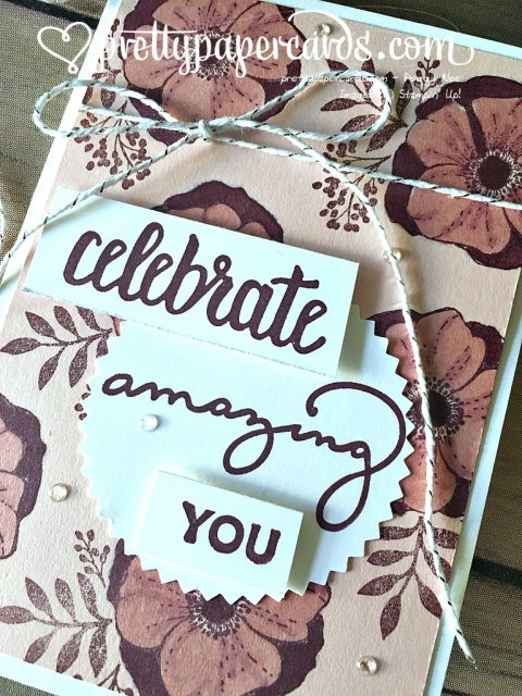 Stampin' Up! Celebrate Amazing You - Peggy Noe - stampinup