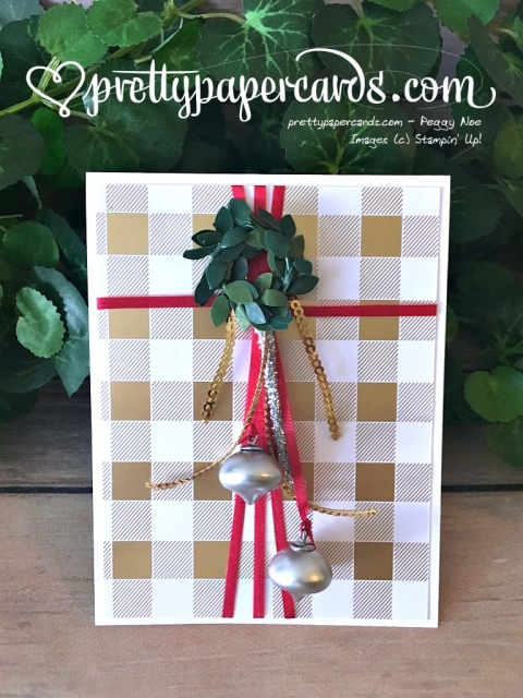 Stampin' Up! Christmas Card Prettypapercards - Peggy Noe - stampinup