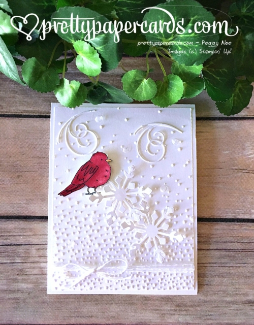 Stampin' Up! Oh Happy Day Cardinal Card - Peggy Noe - stampinup