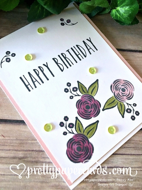 Stampin' Up! Perennial Birthday - Peggy Noe - stampinup